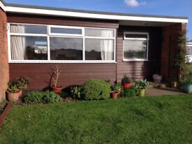 FREEHOLD CHALET CALIFORNIA SANDS NR GT YARMOUTH £23,950 2 BEDROOM -VIEWS OF FIELDS - PETS ALLLOWED