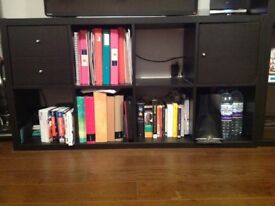 Ikea bookcase kallax model 2 rows with inserts