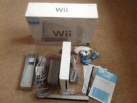 Wii and balance board