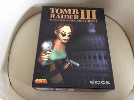 Boxed Vintage Laura Croft Tomb Raider 111 CD