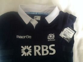 Age 3-4 kids Scottish Rugby Kit inc top,shorts & socks