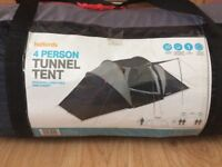 4 people tent tunnel