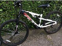Mountain Bike full suspension will full disc brakes back and front