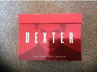 Dexter box set. Totally packaged, only watched once. Ideal gift or for Dexter fan.