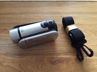 Canon Legria FS306 Camcorder with case