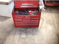 Snap on 9 drawer toolbox van box