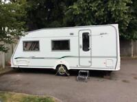 Caravan Bessacarr cameo 525 3 berth with motor mover