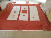 Double duvet cover , not new but in reasonable condition