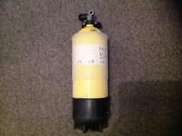 10 litre 232 bar DIN or A clamp cylinder...Diving or shooting / airguns