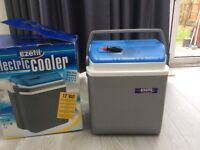 Electric cooler used only once
