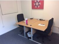Shared & Private options available from £40 p/w | Private offices for 1 - 6 people