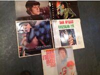 Job lot, Vinyl Records, Donovan, Gilbert Osullivan, Don McLean.