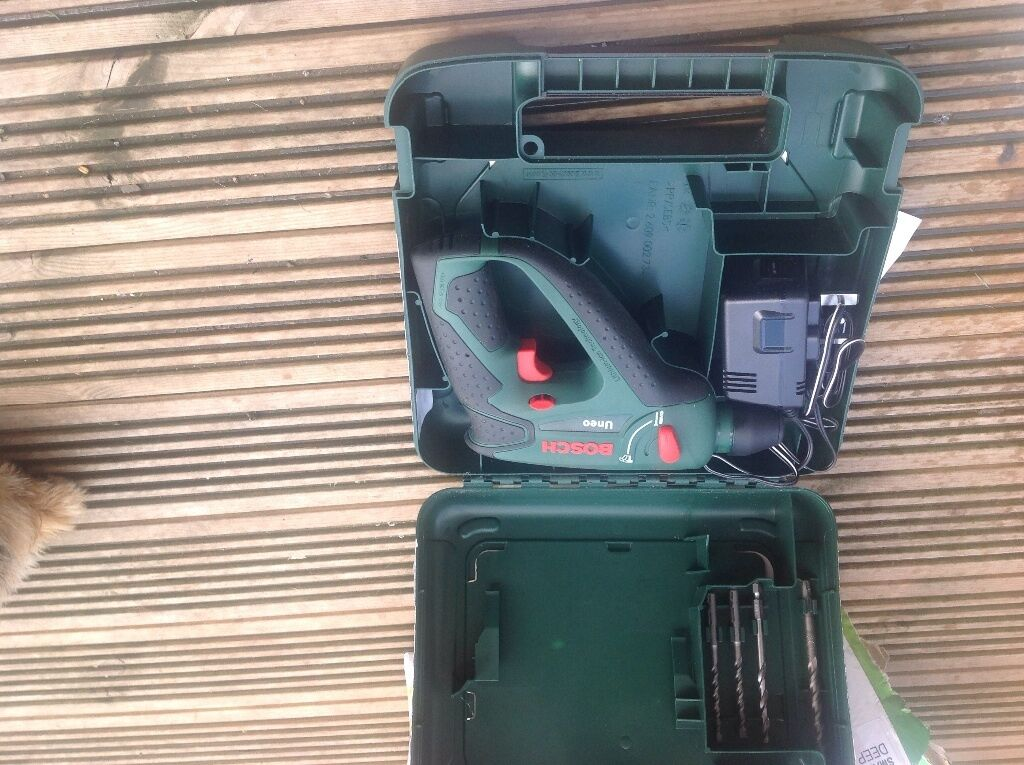 bosch uneo cordless sds drill in cinderhill nottinghamshire gumtree. Black Bedroom Furniture Sets. Home Design Ideas