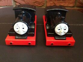 Thomas the tank engine - Donald and Duncan push along