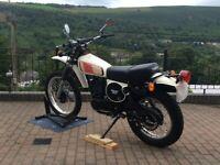 Yamaha, XT 500D,
