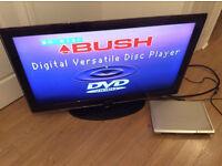 """Samsung LE46A656A1F Sieries 6 46"""" LCD TV & Bush DVD Player"""