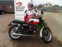 Mutt Motorcycles Desert Racer Demonstrator only 200 miles on the clock £2,300