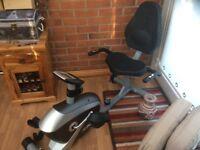 Recumbant exercise bike