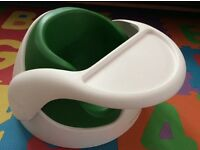 Mamas&Papas feeding chair with tray green