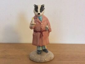 Royal Doulton Wind in the Willows Badger figurine