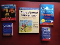Learn French books and CD