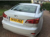 Lexus IS220d 2.2SE Saloon - Great looking car!