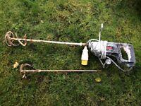 Power tool skil mixer