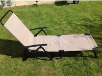 Pair of Metal Sunloungers