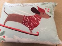 Christmas cushions from next