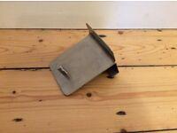 'Blomus' over the door brushed steel coat hooks