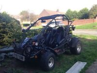 Quadzilla pgo 250e only 2500 miles from new road buggy 57 plate 11 months mot