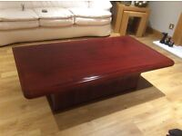 Rosewood coffee table excellent condition