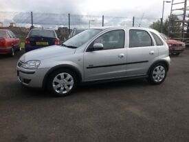Vauxhall CORSA SXI 1.2 55 plate only 58000 miles PSH MOT ONE YEAR 5 door silver