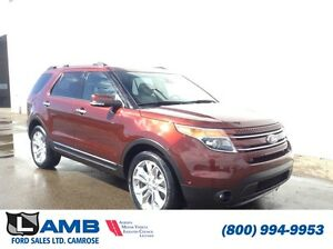 2015 Ford Explorer 4WD 302A Limited Heated steering wheel Rain s
