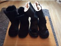 Two pair womans Uggs size 7