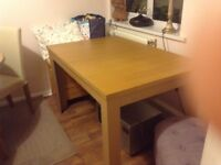 Immaculate extending dining table