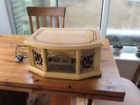 Antique style record player