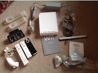 Nintendo Wii, games, balance board etc