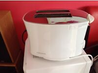White Morphy Richards Toaster