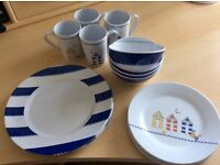 Nearly new Luxury Melamine dining set