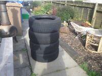 New snow tyres
