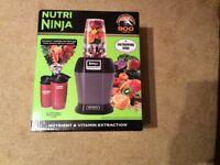 Nutri Ninja 900 Watts Brand New Sealed Box BL450UKSG