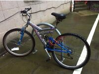 Falcon Matrix Fs18, Full Suspension Mountain Bike