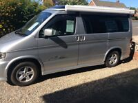 2002 mazda bongo camper 4 berth pop up roof +extras side conversion wind put awning 2.5 turbo diesel