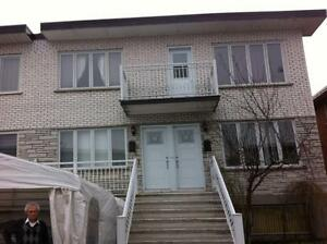 Montreal nord, 31/2 rue Ovide Clermont, libre juillet, 500.00$
