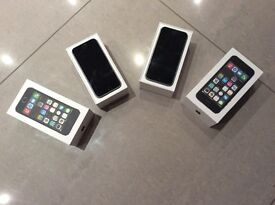 Pair of iPhone 5s unlocked any network one now sold
