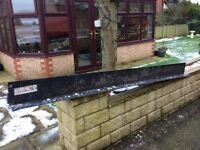 Used catnic lintels, size 2.4 metre lengths.