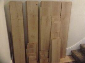 Laminte flooring (used)