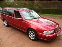 1997 VOLVO V70 AUTOMATIC **EXCELLENT CONDITION**FULL MOT**FSH**CAMBELT CHANGED RECENTLY