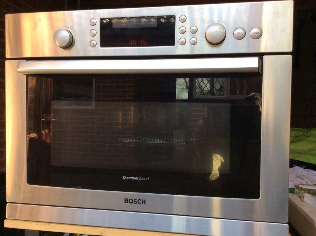 Quantum Speed Bosch Microwave Convection Oven Combination